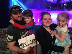 Click To Read More Feedback from Disney on Ice Frozen - Sunday Evening