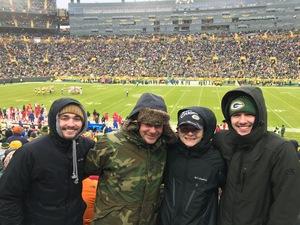 Eric attended Green Bay Packers vs. Arizona Cardinals - NFL on Dec 2nd 2018 via VetTix