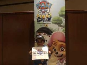Frank attended Paw Patrol Live! The Great Pirate Adventure - Presented by Vstar Entertainment on Apr 14th 2019 via VetTix