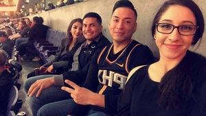 Christopher attended Phoenix Suns vs. Orlando Magic - NBA on Nov 30th 2018 via VetTix