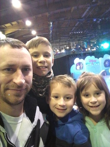 Aaron attended Disney on Ice Presents Mickey's Search Party on Feb 7th 2019 via VetTix