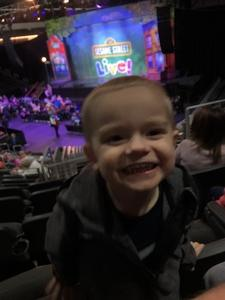 Adam attended Sesame Street Live! Make Your Magic on Jan 3rd 2019 via VetTix