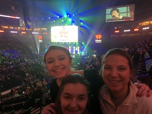 Joe attended 101. 3 Kdwb's Jingle Ball Presented by Capital One - Pop on Dec 3rd 2018 via VetTix