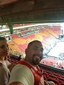 JORGE attended Miami Heat vs. Orlando Magic - NBA - Tonight! on Dec 4th 2018 via VetTix
