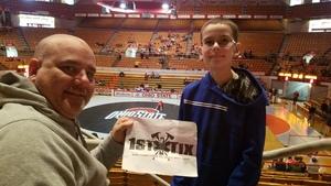 Ben attended Ohio State Buckeyes vs. University of Nebraska Cornhuskers - NCAA Wrestling on Feb 17th 2019 via VetTix