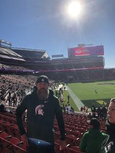 Gregory attended Redbox Bowl: Oregon vs. Michigan State - NCAA Football on Dec 31st 2018 via VetTix