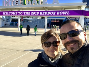 Jesse attended Redbox Bowl: Oregon vs. Michigan State - NCAA Football on Dec 31st 2018 via VetTix