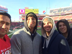 Jose attended Redbox Bowl: Oregon vs. Michigan State - NCAA Football on Dec 31st 2018 via VetTix