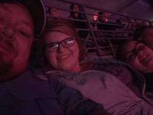James attended Disney on Ice Presents: Dare to Dream on Apr 18th 2019 via VetTix