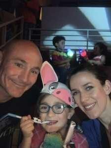 Joshua attended Disney on Ice Presents: Dare to Dream on Apr 18th 2019 via VetTix