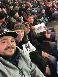 Chazz attended 2018 Pinstripe Bowl on Dec 27th 2018 via VetTix