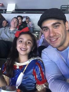 Salvatore attended Disney On Ice: 100 Years Of Magic on Jan 3rd 2019 via VetTix