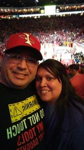 Brian attended University of New Mexico vs. Nevada - NCAA Men's Basketball on Jan 5th 2019 via VetTix