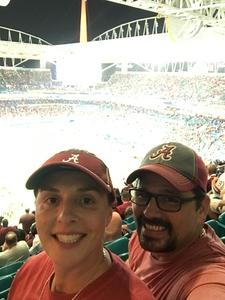 Bret attended 2018 Capital One Orange Bowl - Oklahoma Sooners vs. Alabama Crimson Tide - College Football Playoffs Semifinal Game on Dec 29th 2018 via VetTix