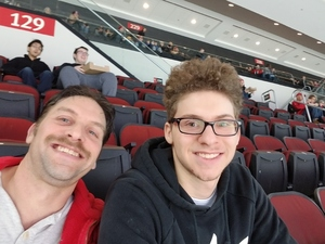 Ronald attended New Jersey Devils vs. Vancouver Canucks - NHL on Dec 31st 2018 via VetTix