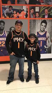 Ramon attended Phoenix Suns vs. Philadelphia 76ers - NBA on Jan 2nd 2019 via VetTix