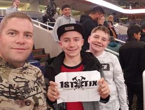 Jarrod attended Phoenix Suns vs. LA Clippers - NBA on Jan 4th 2019 via VetTix