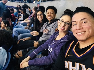 Christopher attended Phoenix Suns vs. LA Clippers - NBA on Jan 4th 2019 via VetTix