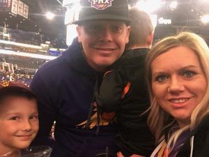 Jacob attended Phoenix Suns vs. LA Clippers - NBA on Jan 4th 2019 via VetTix