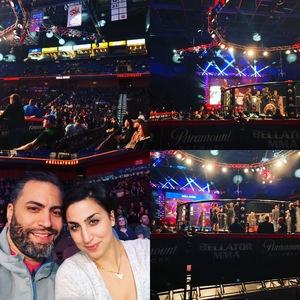 miguel attended Bellator MMA - Mitrione vs. Kharitonov - Live Mixed Martial Arts on Feb 15th 2019 via VetTix