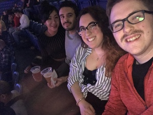 Alexa attended Bellator MMA - Mitrione vs. Kharitonov - Live Mixed Martial Arts on Feb 15th 2019 via VetTix