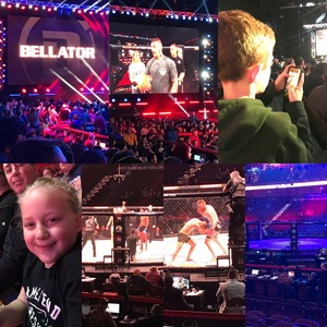 Bridget attended Bellator MMA - Mitrione vs. Kharitonov - Live Mixed Martial Arts on Feb 15th 2019 via VetTix