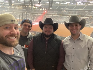 Joshua attended Winstar World Casino and Resort PBR Global Cup USA - Sunday Only on Feb 10th 2019 via VetTix