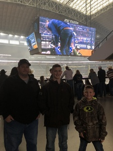 Fred attended Winstar World Casino and Resort PBR Global Cup USA - Sunday Only on Feb 10th 2019 via VetTix