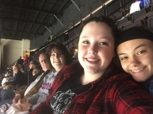 Chuck attended Jacksonville Icemen vs. Florida Everblades - ECHL - Military Appreciation Night on Jan 26th 2019 via VetTix