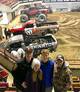Jeff attended 2019 Traxxas Monster Truck Tour - *see Notes on Feb 16th 2019 via VetTix