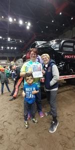 Janet attended 2019 Traxxas Monster Truck Tour - *see Notes on Feb 16th 2019 via VetTix