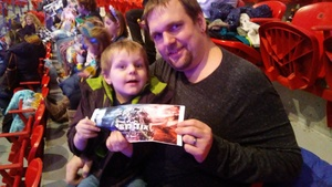 Matthew (Current EMT/Firefighter) attended Disney on Ice Presents: 100 Years of Magic! on Feb 7th 2019 via VetTix