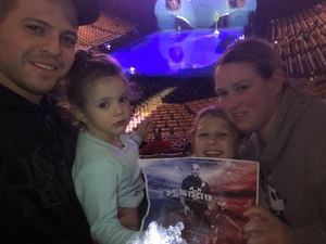 Cory attended Disney on Ice Presents Mickey's Search Party on Feb 15th 2019 via VetTix