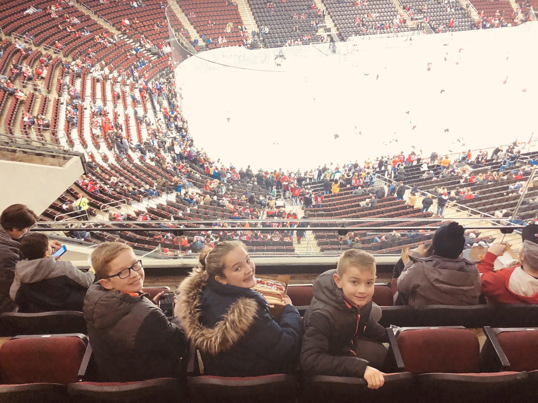 9fc23de67 Elisabeth attended New Jersey Devils vs. Anaheim Ducks - NHL on Jan 19th  2019 via
