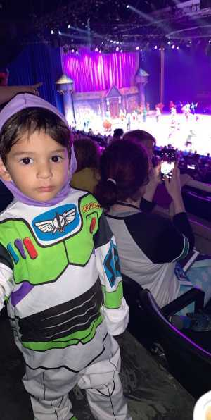 Haidden attended Disney on Ice Celebrates 100 Years of Magic - Ice Shows on May 9th 2019 via VetTix