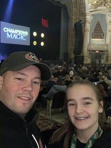 Daniel attended Champions of Magic - Thursday on Jan 24th 2019 via VetTix