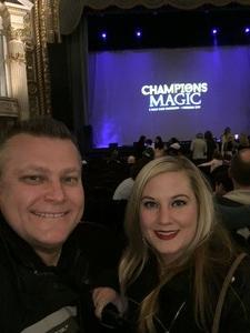 James attended Champions of Magic - Friday on Jan 25th 2019 via VetTix