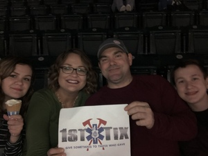 Charles attended TobyMac Hits Deep Tour on Feb 10th 2019 via VetTix