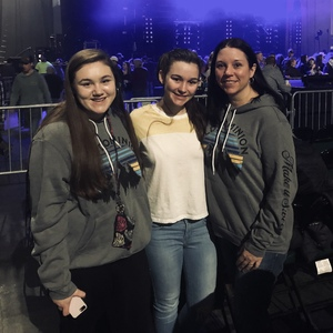 Lee attended Old Dominion Make It Sweet Tour on Jan 24th 2019 via VetTix