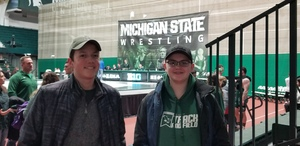 Tom attended Michigan State Spartans vs. Cleveland State - NCAA Wrestling on Feb 10th 2019 via VetTix