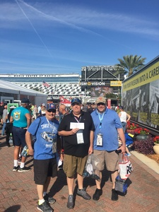 JA attended 61st Annual Monster Energy NASCAR Cup Series Daytona 500 With Fanzone Access! - * See Notes on Feb 17th 2019 via VetTix