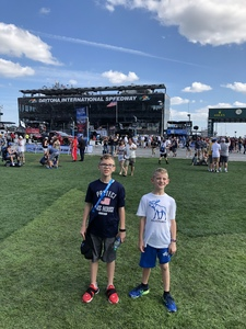 Christopher attended 61st Annual Monster Energy NASCAR Cup Series Daytona 500 With Fanzone Access! - * See Notes on Feb 17th 2019 via VetTix