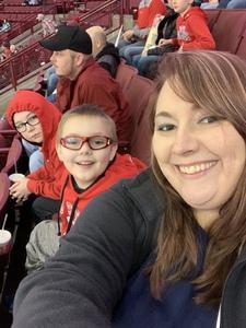 Trudy attended Ohio State Buckeyes Mens Hockey vs. University of Minnesota Golden Gophers Mens Hockey - College on Feb 15th 2019 via VetTix