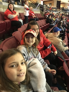 David attended Ohio State Buckeyes vs. University of Minnesota Golden Gophers - NCAA Hockey on Feb 16th 2019 via VetTix