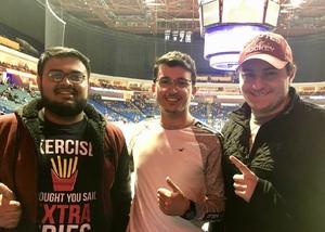 George attended Tulsa Oilers vs Worcester Railers - ECHL on Feb 17th 2019 via VetTix