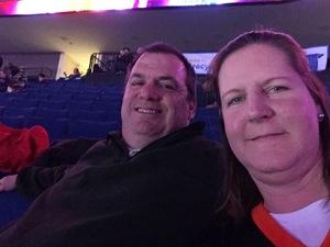 Clarke attended Tulsa Oilers vs Worcester Railers - ECHL on Feb 17th 2019 via VetTix