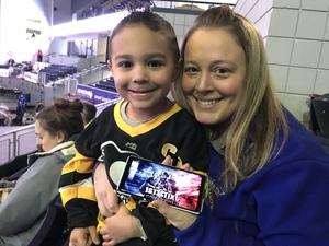 Jennifer F. attended Rochester Americans vs Binghamton Devils - AHL on Feb 17th 2019 via VetTix