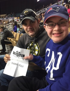 Jason (Current Firefighter) attended Worcester Railers vs Cincinnati Cyclones - ECHL on Feb 10th 2019 via VetTix