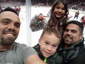 Jacob attended Arizona Coyotes vs. Columbus Blue Jackets - NHL on Feb 7th 2019 via VetTix