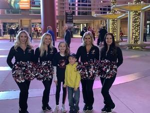 Jobe attended Arizona Coyotes vs. Columbus Blue Jackets - NHL on Feb 7th 2019 via VetTix